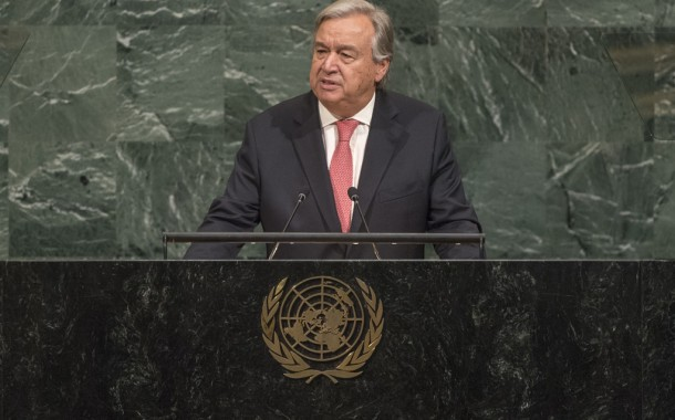 Repair 'world in pieces' and create 'world at peace,' UN chief Guterres urges global leaders