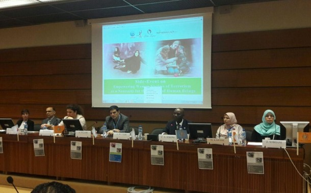 'Empowering women necessary tool for global peace'