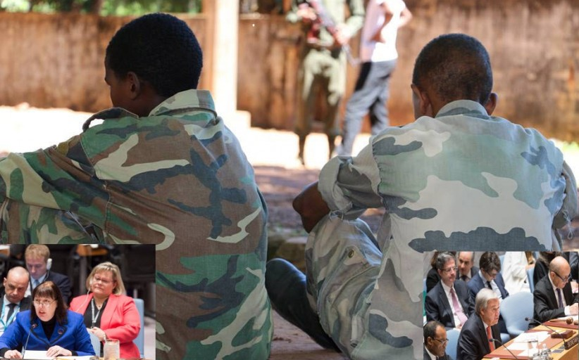 UN Security Council urges more protections for children in conflicts