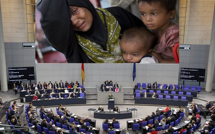 German parliament urges Myanmar to end violence against Rohingya Muslims