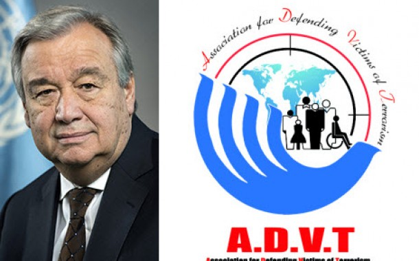 Latter of ADVT to Secretary General of the United Nations