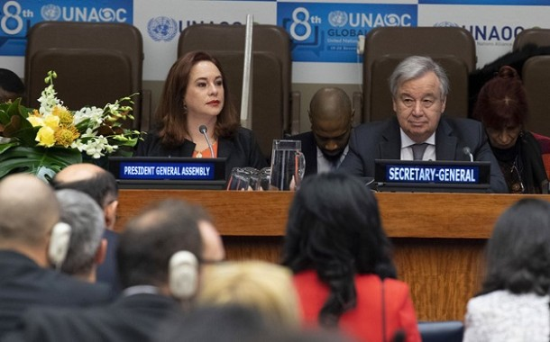 """María Fernanda Espinosa: """"To build those agreements, dialogue is the most powerful mean,""""."""