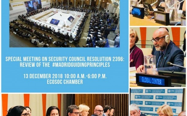 Security Council Counter-Terrorism Committee holds Special meeting to revise principles on foreign fighters