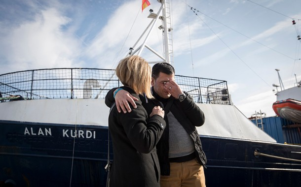 spokesperson for Sea-Eye: It is not about ships, It is about the endless pain and grief victims' loved ones have to feel