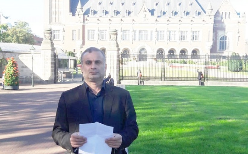 Family of the Victims of Terrorism in Iran- Peace Palace in Netherlands 2019