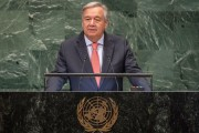 "Guterres: every measure to uphold security and human rights ""helps deliver sustainable development and peace""."