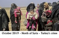 October 2019 – North of Syria – Turkey's crime