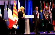 At the 8th International Congress of Victims of Terrorism:  Iranian Victims of Terrorism Disapproval of Terrorist Presence in France by Abuse of Asylum