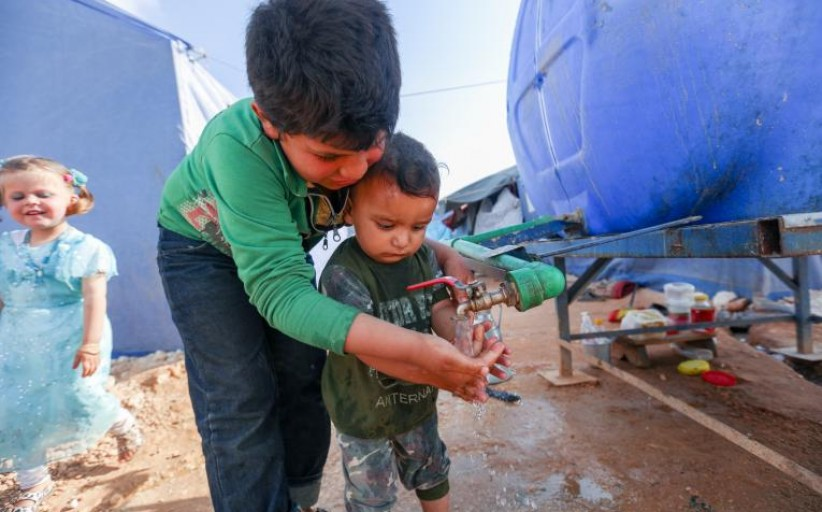 19 million children internally displaced by conflict and violence in 2019