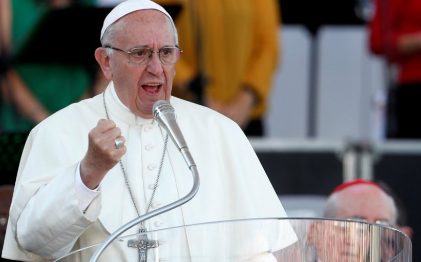Pope Francis: This is scandalous that military arsenals are being strengthened
