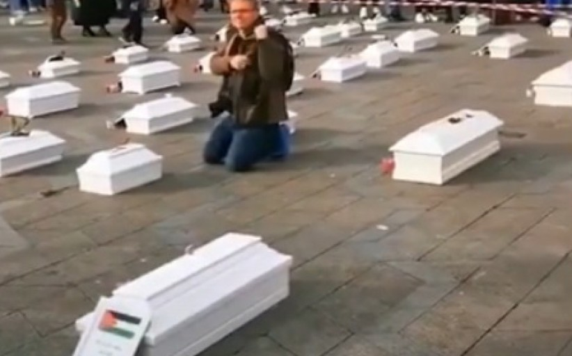 Sympathy with Gaza Children - Denmark - 2021