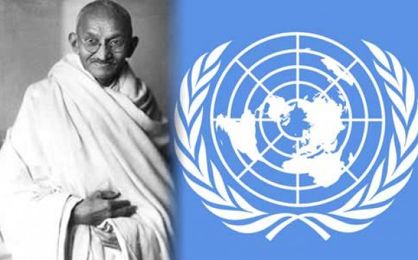 Gandhi proved that non-violence can change history