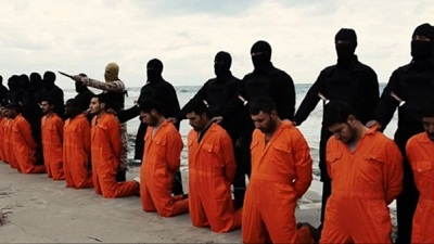 ISIL video shows Christian Egyptians beheaded in Libya