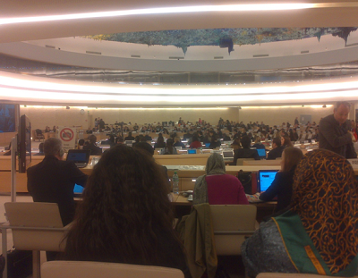 ADVT Participation in the 28th Session of Human Right Council (7 to 18 March)