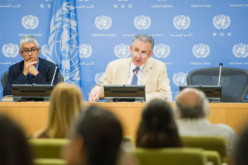 """Top UN counter-terrorism official: """"A country cannot, and is not in the position, to fight terrorism alone,"""""""