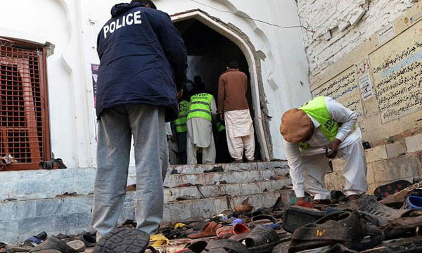 At least 48 killed in blast at Shikarpur imambargah