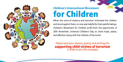for supporting child victims of terrorism