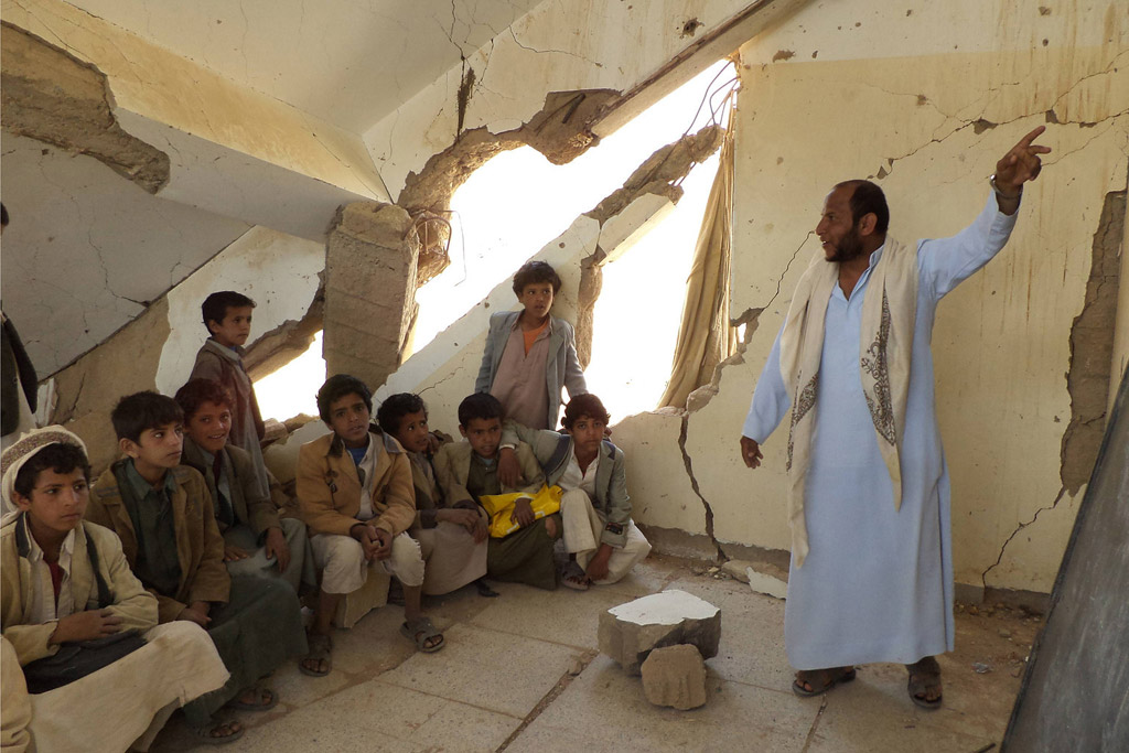 Yemen: UN Chief Condemns Attack on School That Killed at Least 10 Children