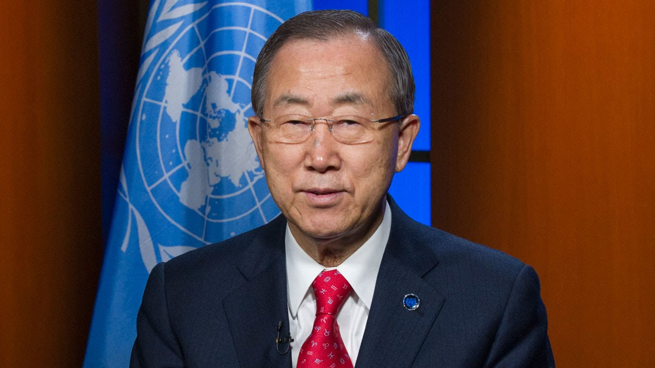 Ban Ki-moon: Sustainable Development Is Essential for Lasting Peace, and Both Depend on Respect for Human Rights