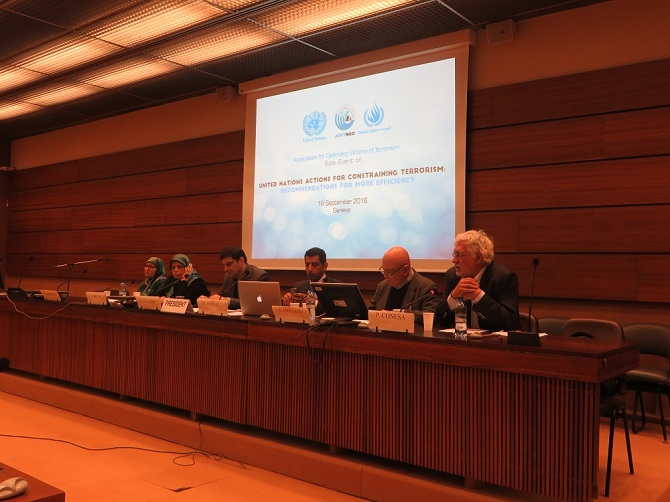 Diplomacy of ADVT at the 33rd Session of (UNHRC)