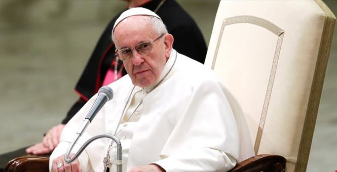 Pope Francis: It is an absurd contradiction to speak of peace, to negotiate peace, and at the same time, promote or permit the arms trade