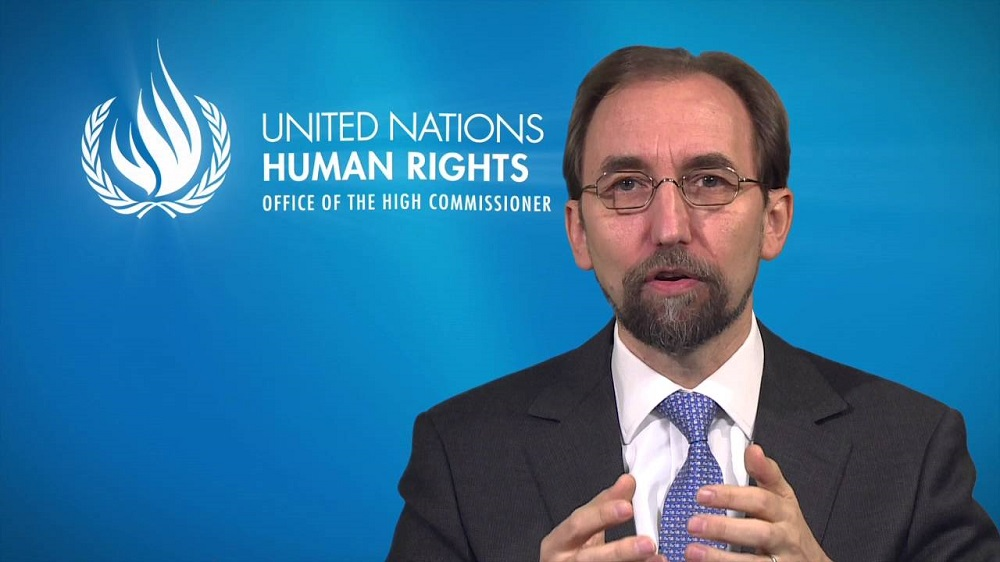 UN High Commissioner for Human Rights Zeid Ra'ad Al Hussein: we should be under no illusions: the legacy of the Universal Declaration is facing threats on many fronts