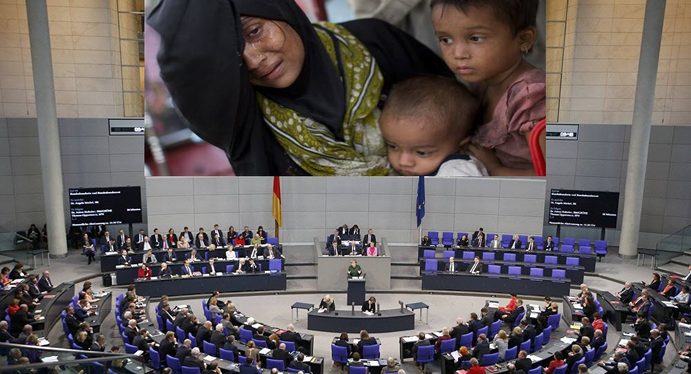 German parliament urges Myanmar to end violence against Rohingya Muslims