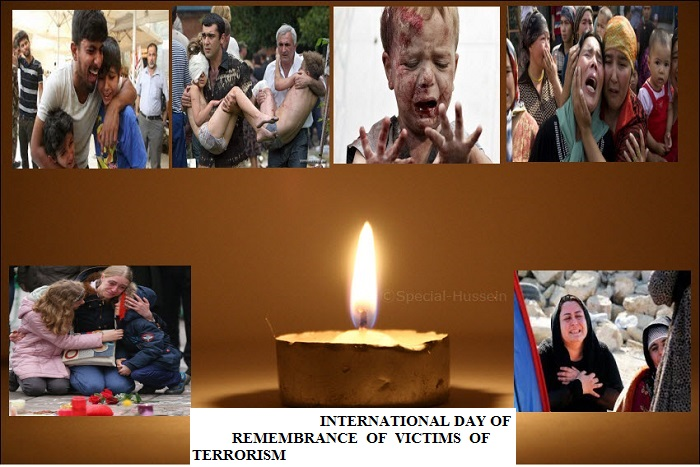TRIBUTE TO, THE VICTIMS OF TERRORISM