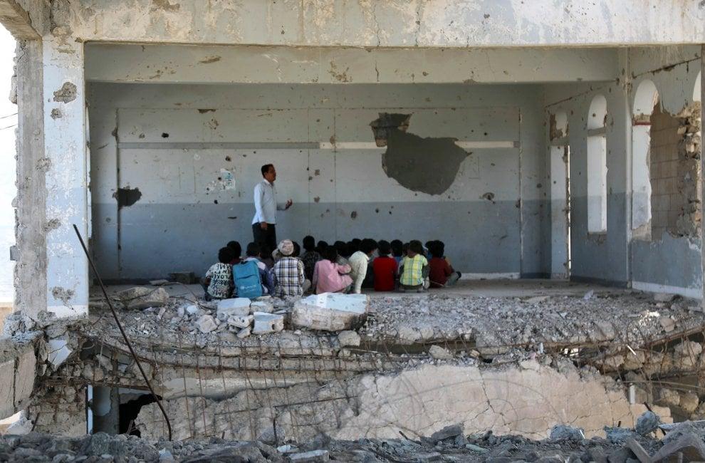 Yemeni Children in school – 2019