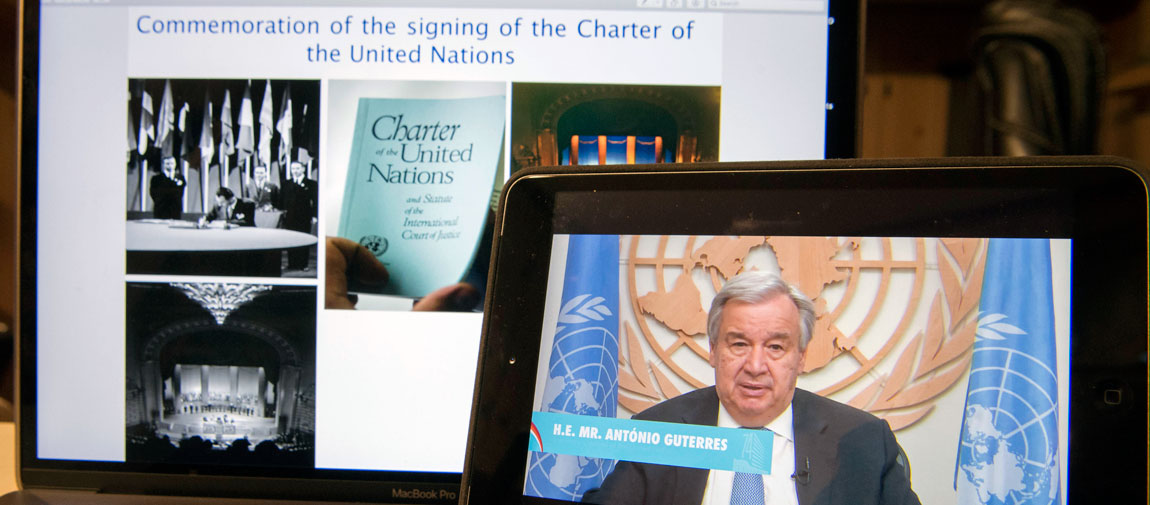 UN marks 75-year milestone anniversary of founding Charter