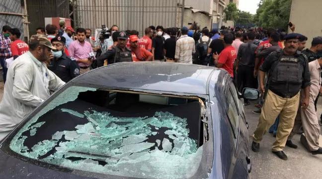 ADVTNGO condemned terrorist attack on Karachi stock exchange building