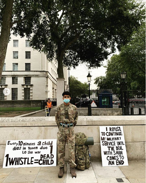 British soldier: I do not want to be part of a corrupt government that continues to arm and support terrorism