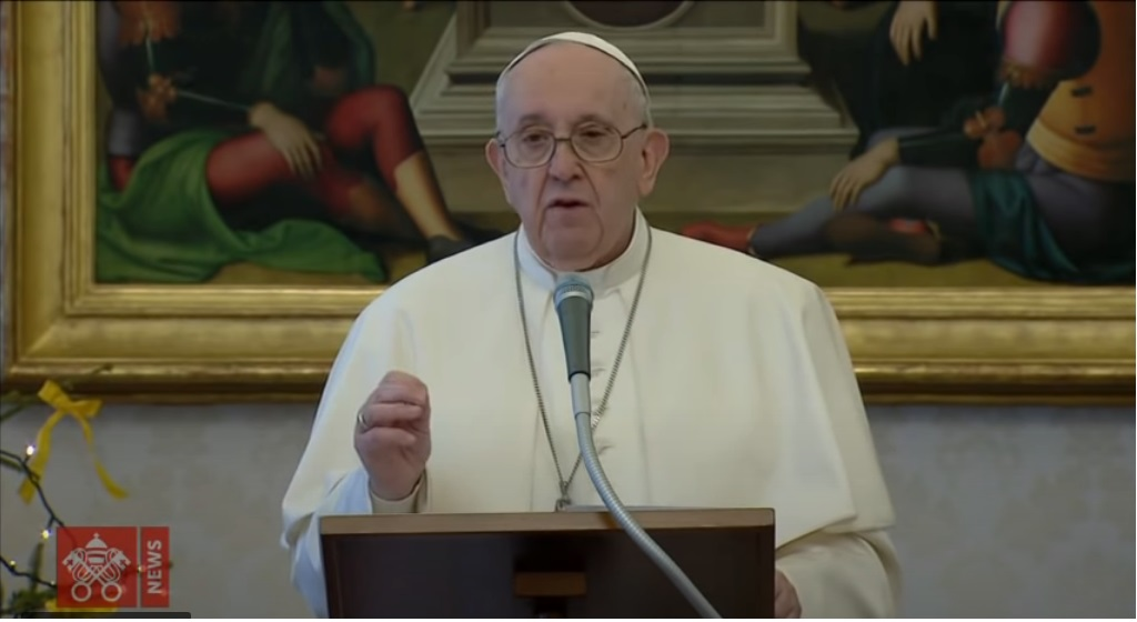 Pope Francis: each of us, men and women of this time, is called to make peace happen