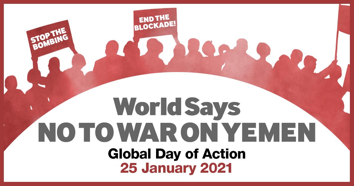 World says no to Yemen war