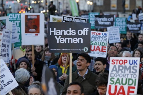 No end of Sales of western weapons against Yemeni people