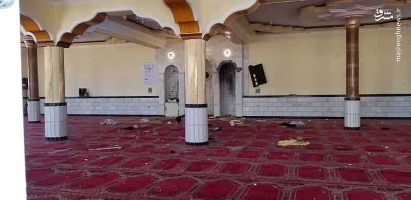 Twelve killed in explosion at Kabul mosque during Friday prayers