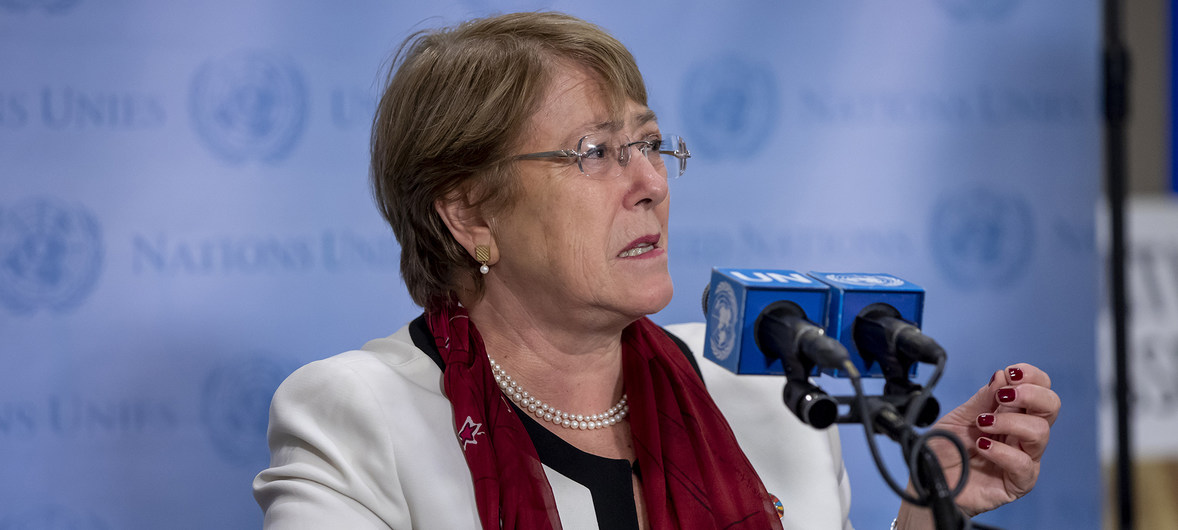 Bachelet: Israel is the occupying power