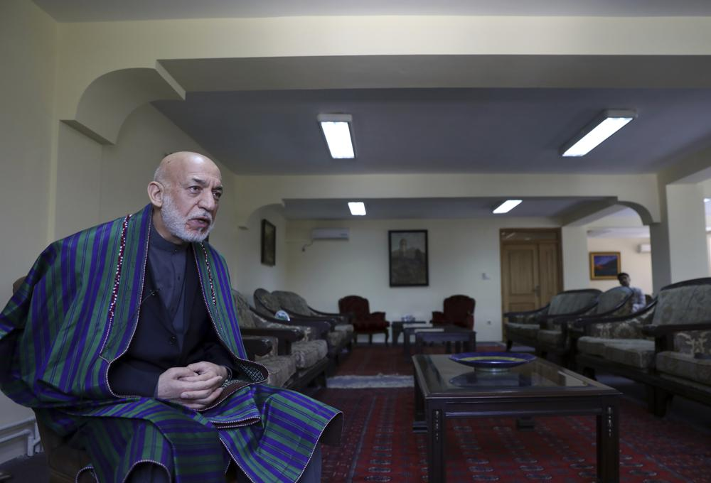 Former Afghan president: US legacy in Afghanistan is a war-ravaged nation in total disgrace and disaster