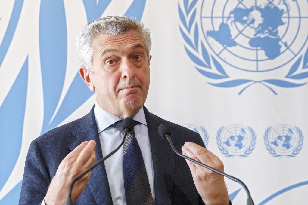 Grandi: displaced people pay the price