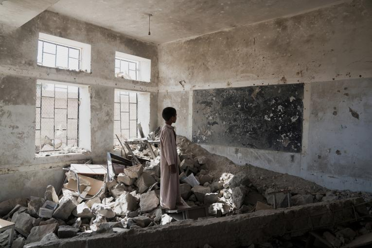 The number of children facing education disruption in Yemen could rise to 6 million