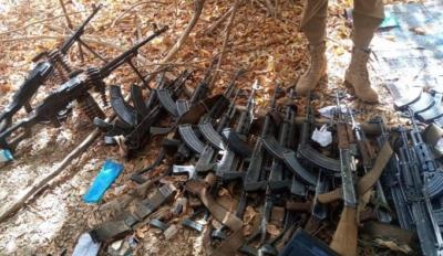 European weapons in stockpiles of terrorists in Africa