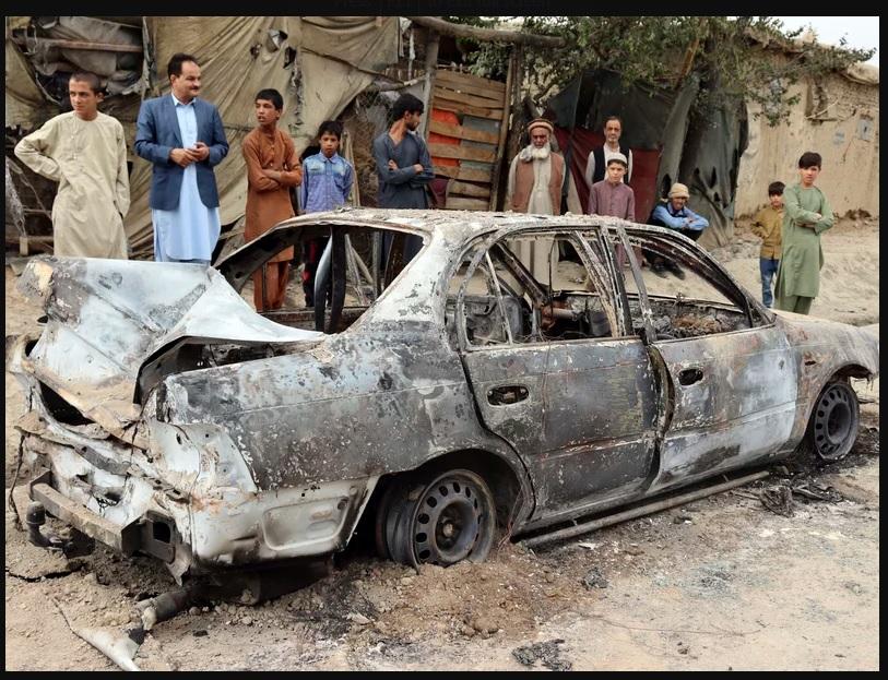 Ten people died in US Kabul strike