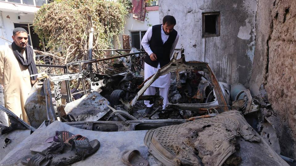 Families of Afghan drone attack victims ask US to admit to 'war crime'