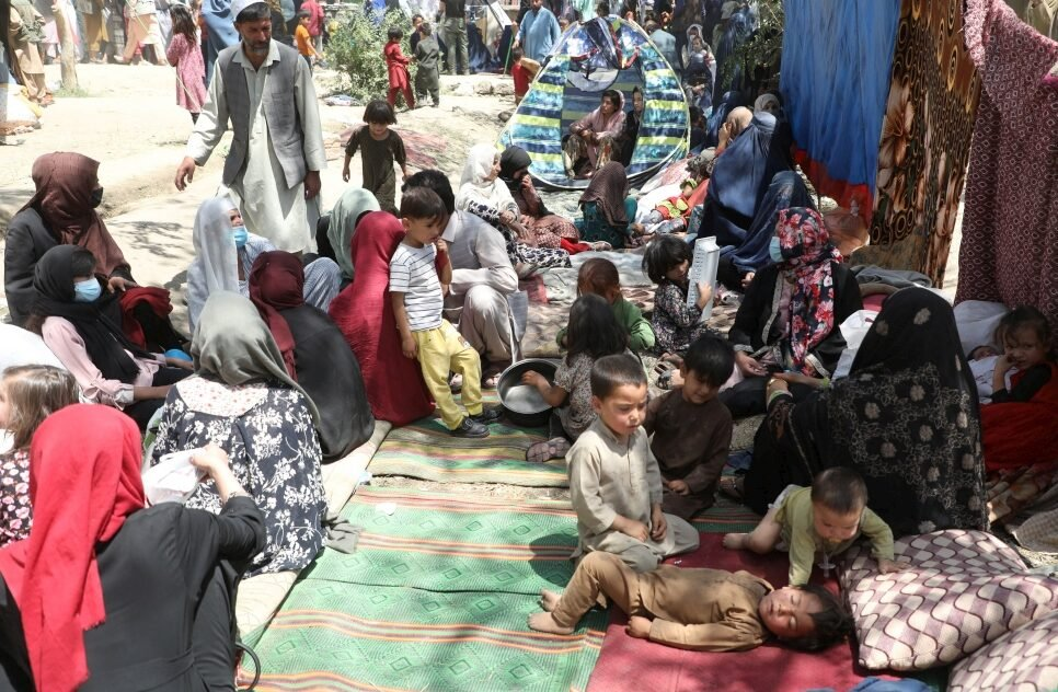 UNHCR had not seen such a large refugee influx